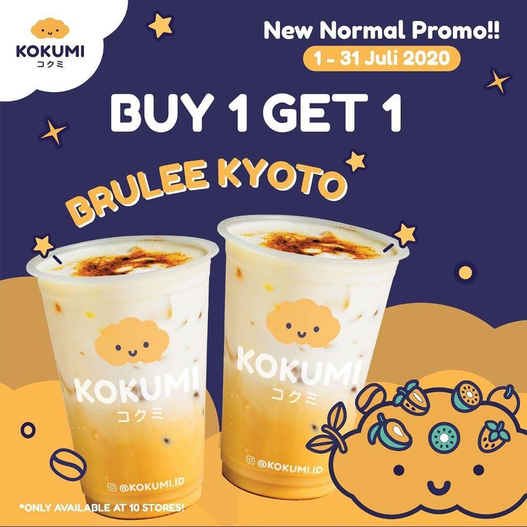 Diskon Kokumi Promo New Normal Promo Buy 1 Get 1 Brulee Kyoto