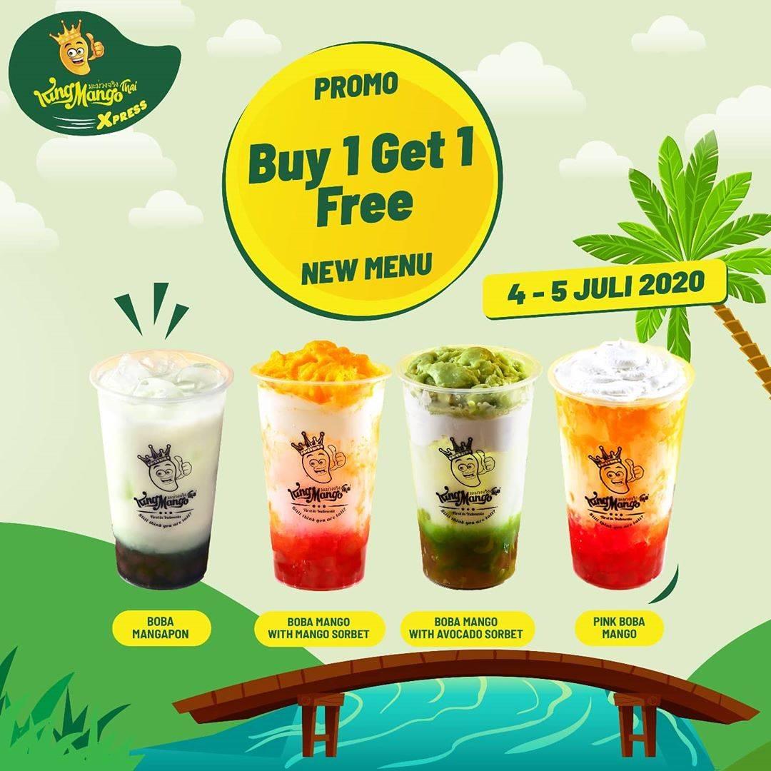 Diskon Promo King Mango Buy 1 Get 1 Free For New Menu