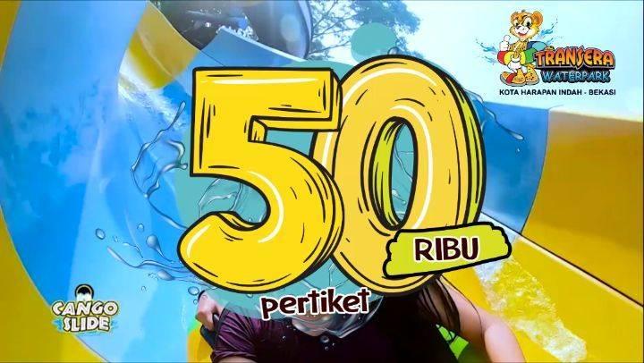 Diskon Promo Transera Waterpark Harga Spesial Tiket Masuk Hanya Rp. 50.000/Tiket