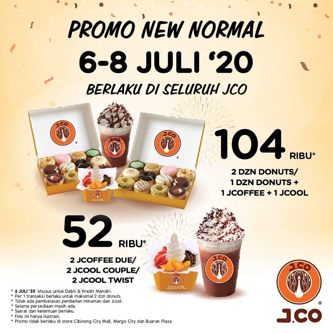 Diskon Promo New Normal J.CO Periode 6-8 Juli 2020