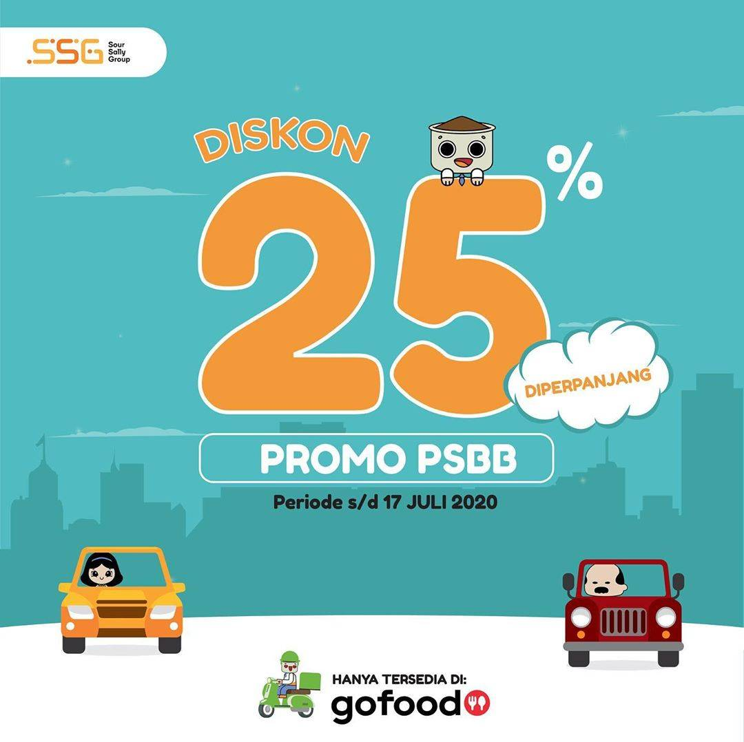 Diskon Promo Fika Kafi Diskon 25% Untuk Pemesanan Paket PSBB Melalui GoFood