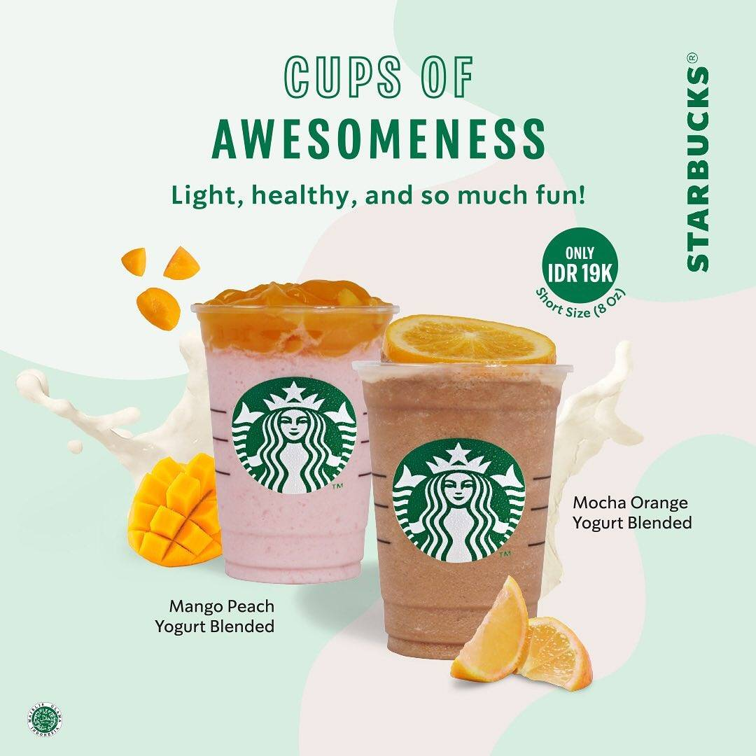 Diskon Promo Starbucks Special Value Cups Of Awesomeness Only For Rp. 19.000