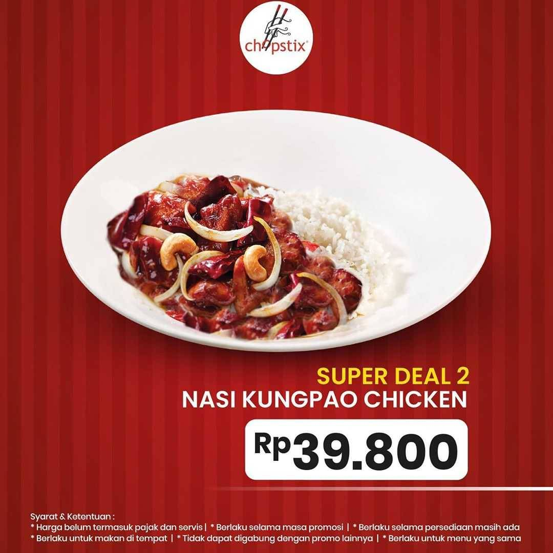 Promo diskon Promo Chopstix Super Deal Buy 1 Get 1 Free