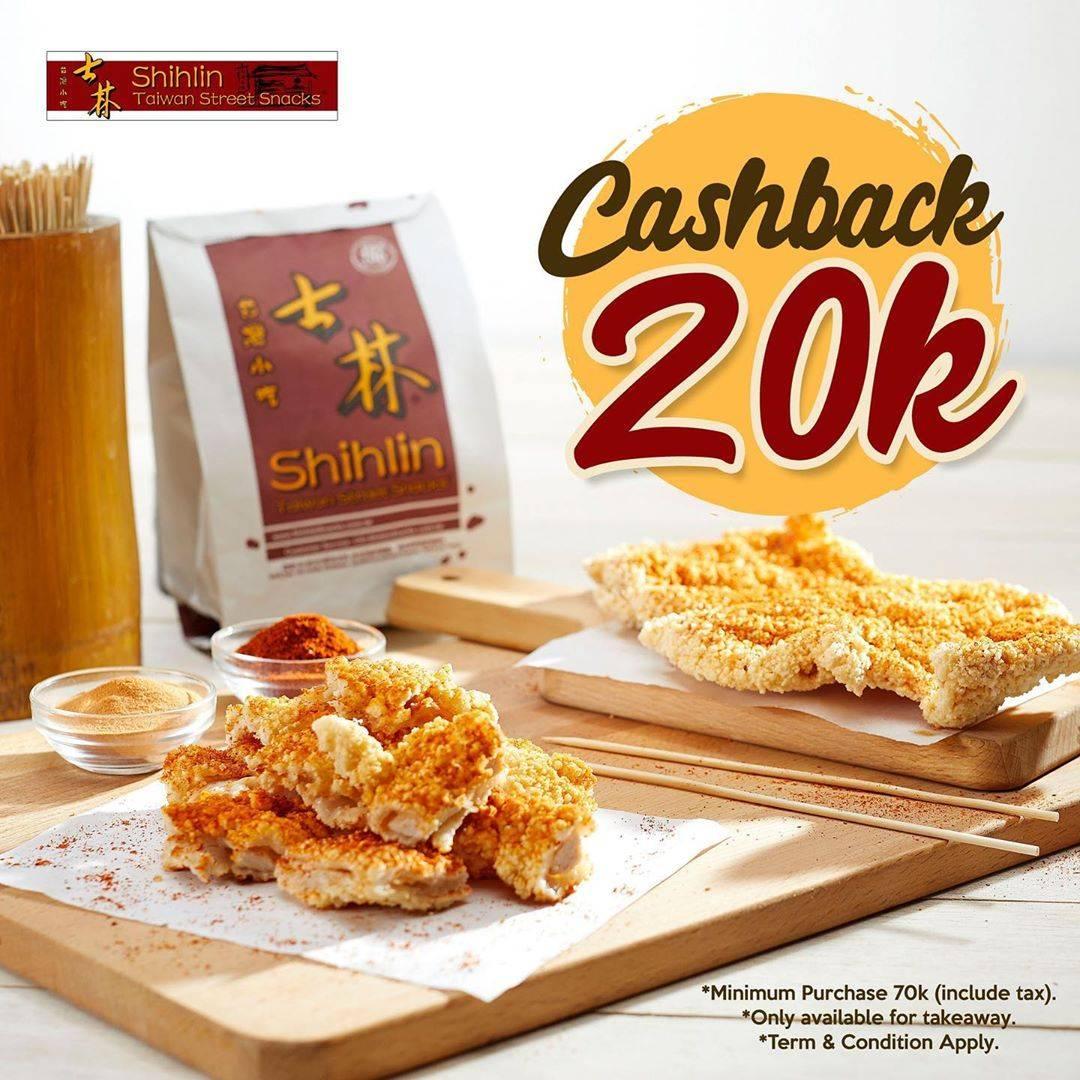 Diskon Promo Shihlin Cashback Rp. 20.000 Untuk Minimum Pembelian Rp. 70.000