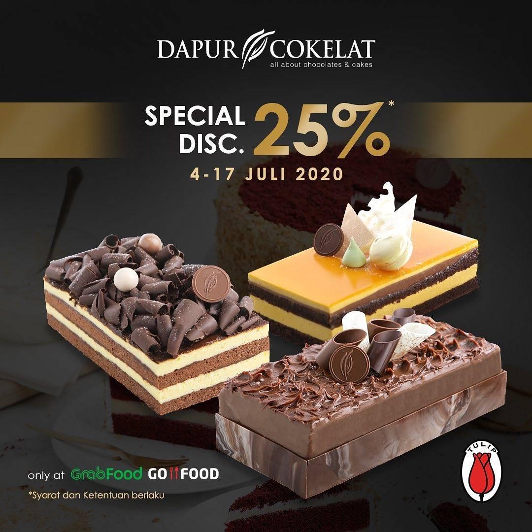 Diskon Promo Dapur Cokelat Diskon 25% Untuk Seluruh Loaf Cake