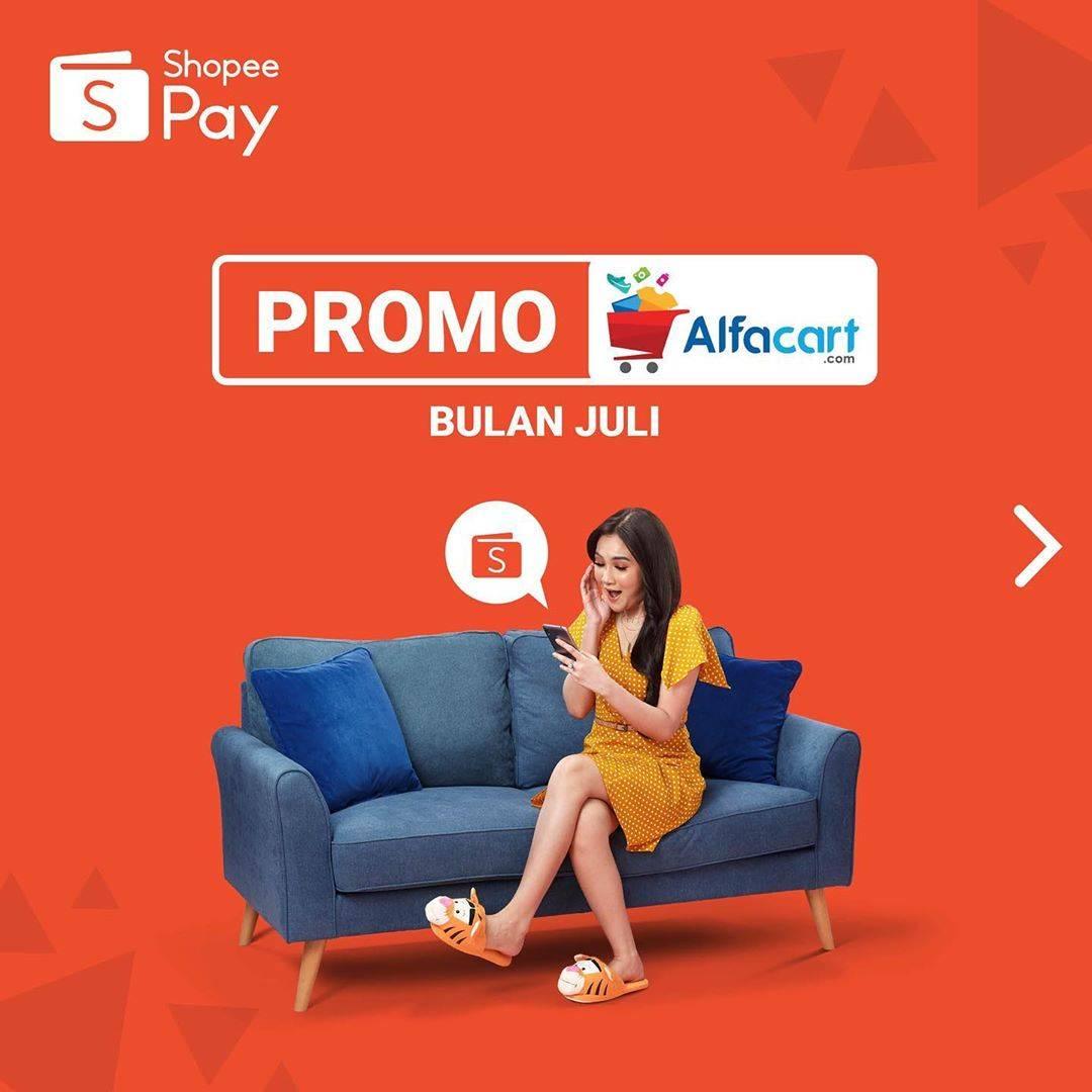 Diskon Promo ShopeePay AlfaCart Bulan Juli
