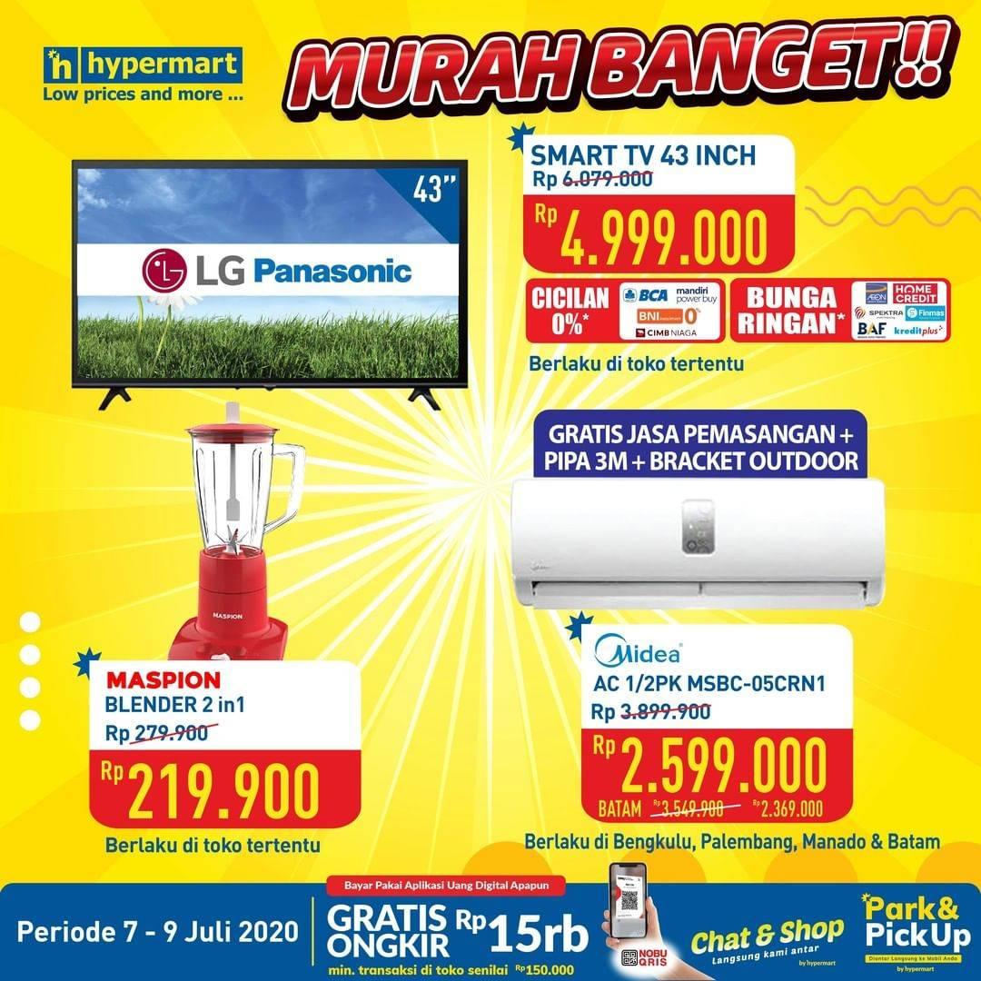 Katalog Promo Hypermart Elektronik Murah Banget Periode 7 9 Juli 2020 Disqonin
