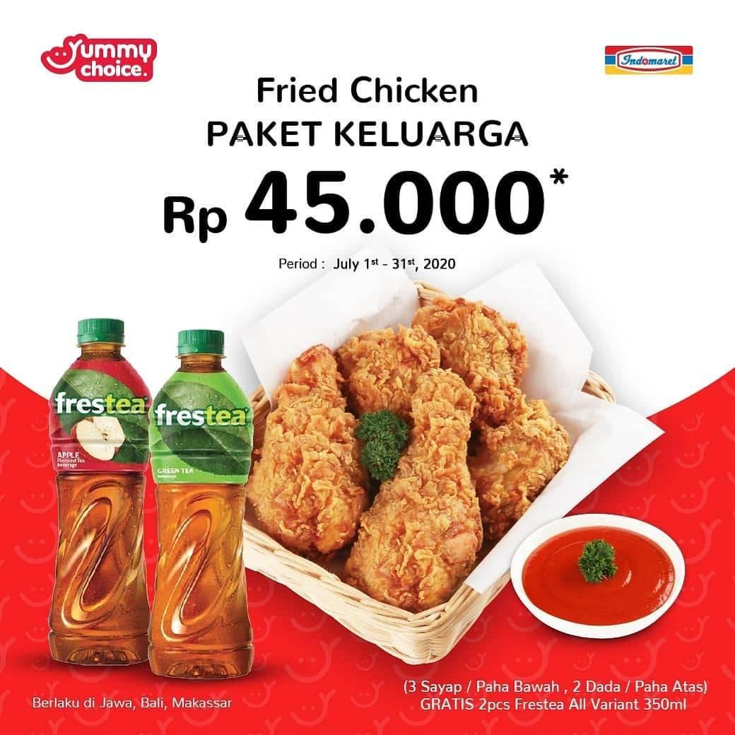Promo Indomaret Fried Chicken Paket Keluarga Yummy Choice Hanya Rp 45 000 Disqonin