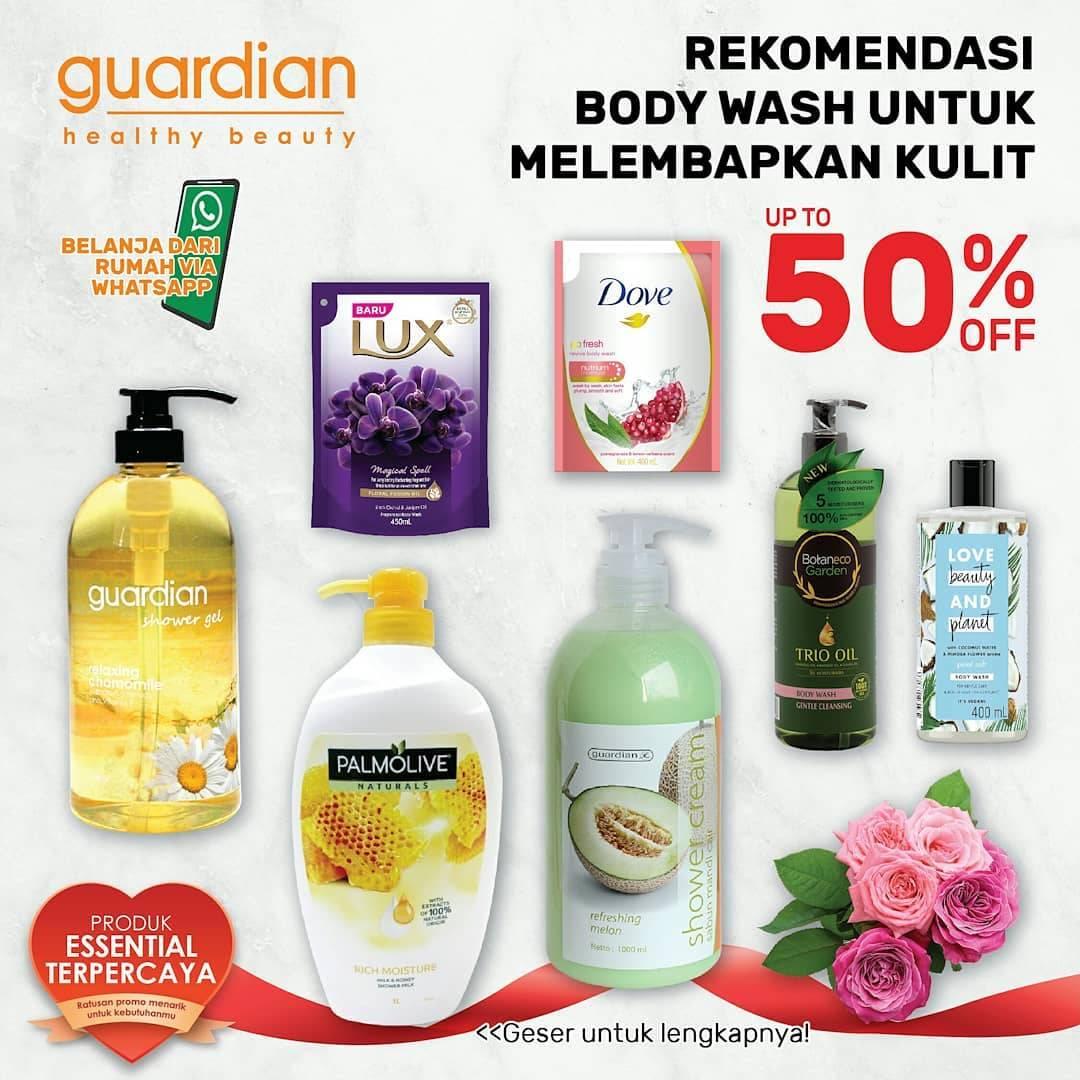 Diskon Katalog Promo Guardian Body Wash Periode hingga 22 Juli 2020