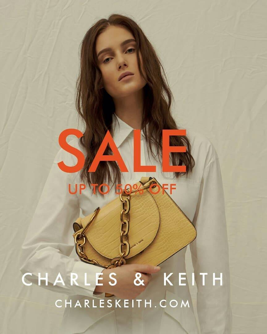 Diskon Promo Charles & Keith Season Sale Up To 50% Off