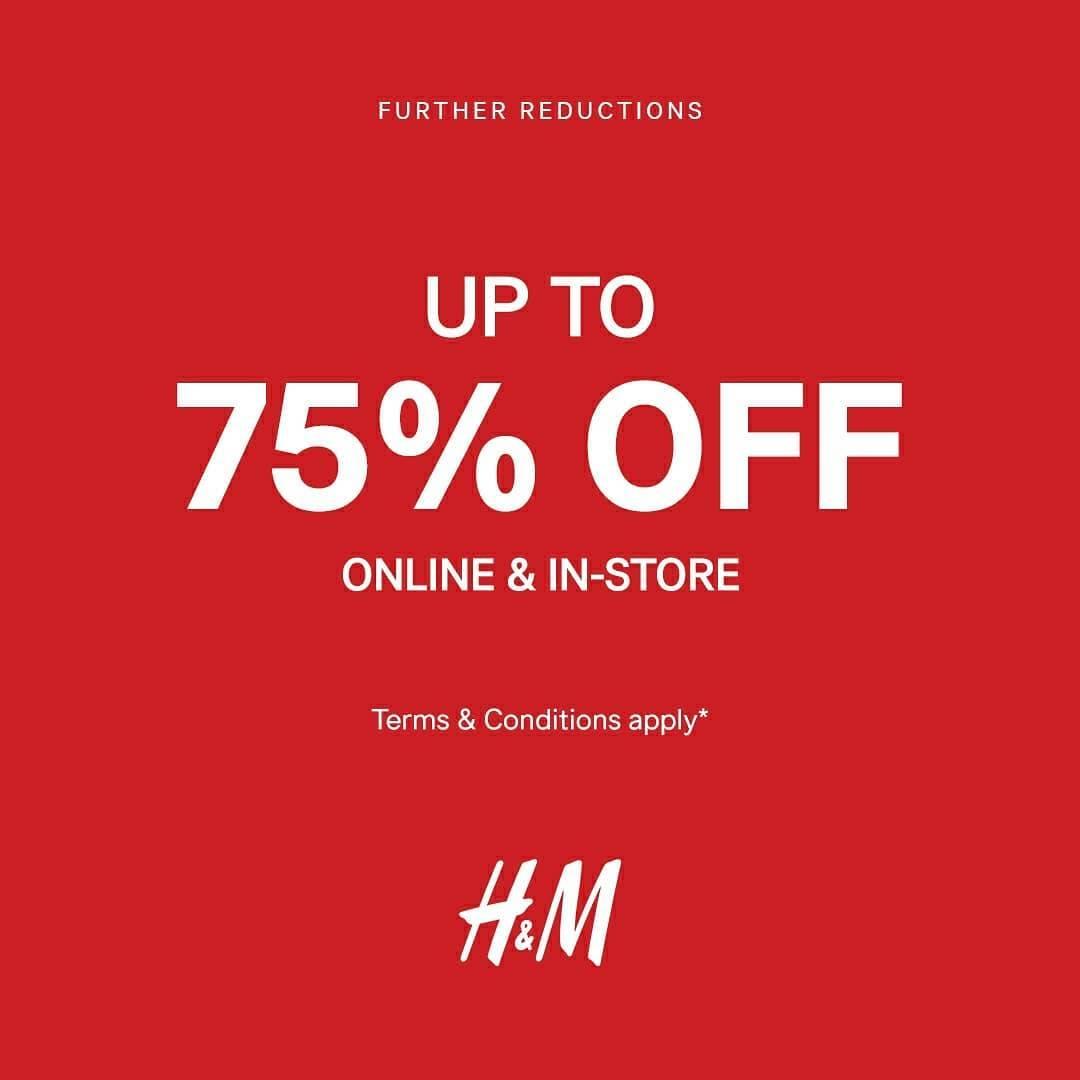 Diskon Promo H&M End Of Season Sale Up To 75% Off
