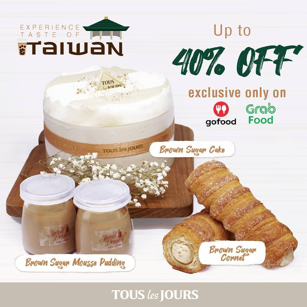 Diskon Promo TOUS les JOURS Discount 40% Off For Brown Sugar Creations