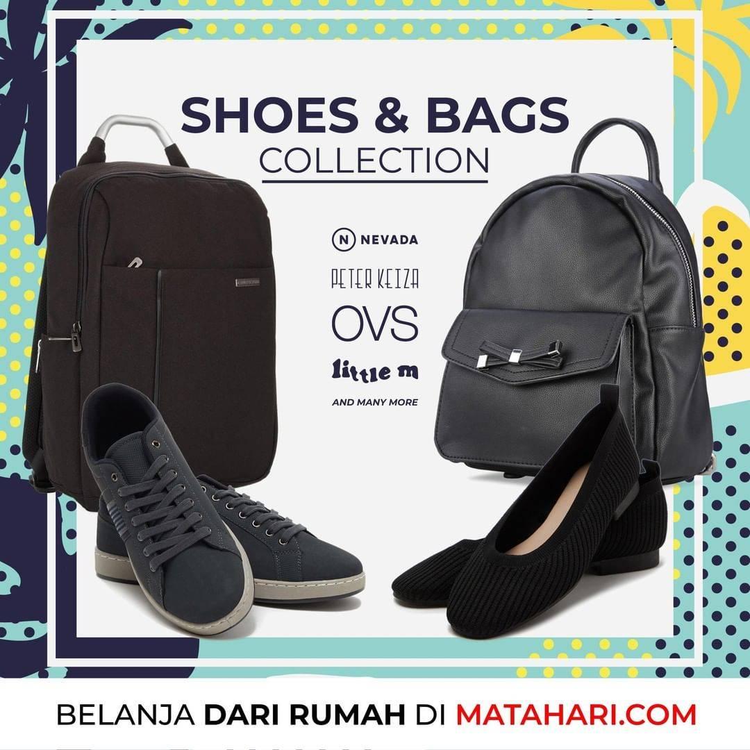 Diskon Promo Matahari Diskon 70% + Extra 30% Untuk Koleksi Tas & Sepatu
