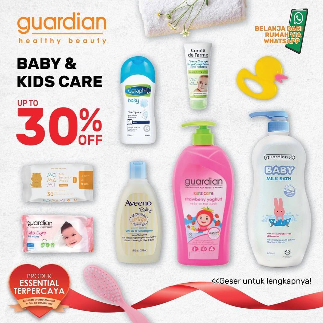 Diskon Katalog Promo Guardian Baby & Kids Care Periode Hingga 22 Juli 2020