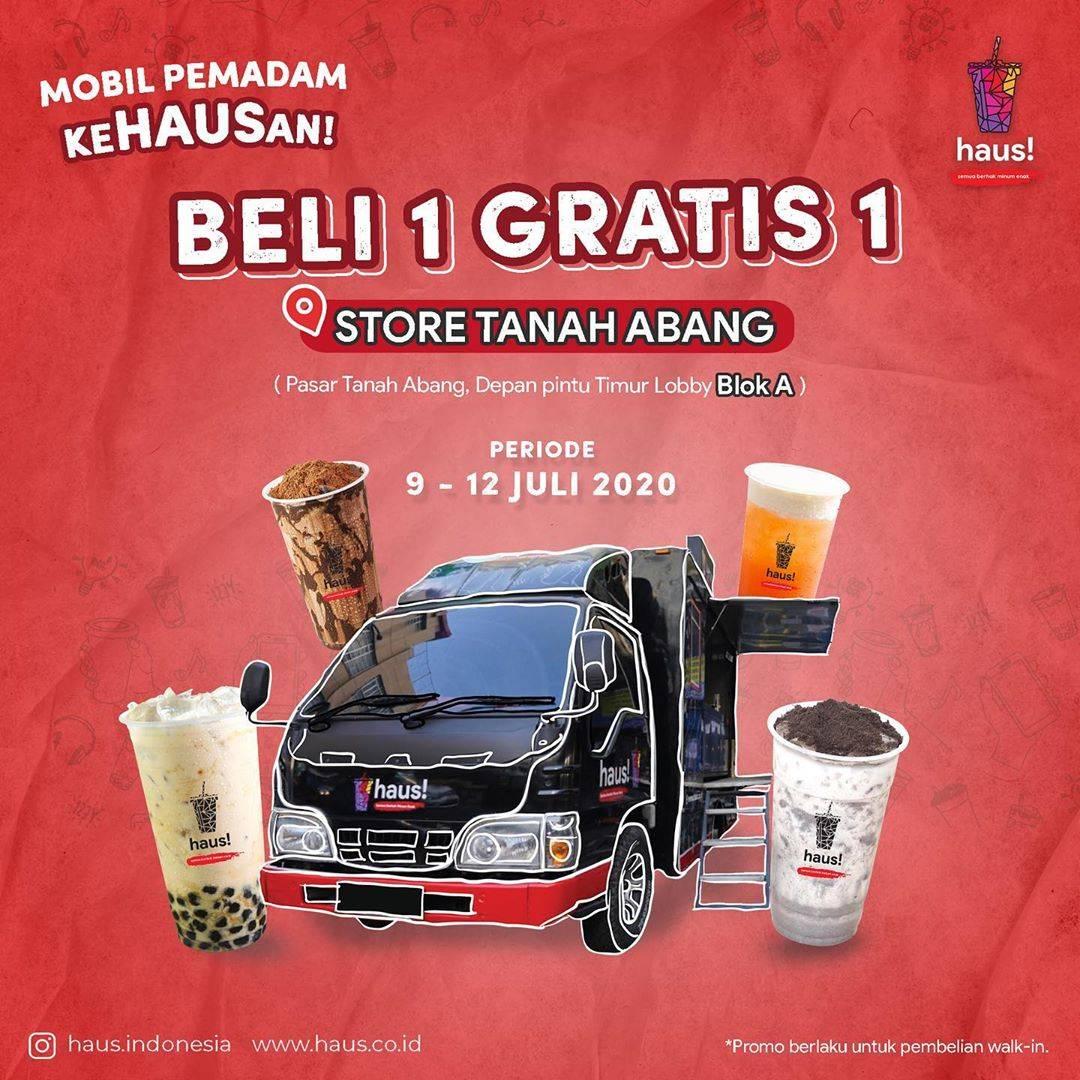 Diskon Promo Haus! Indonesia Beli 1 Gratis 1 Untuk Pembelian Di Food Truck Tanah Abang