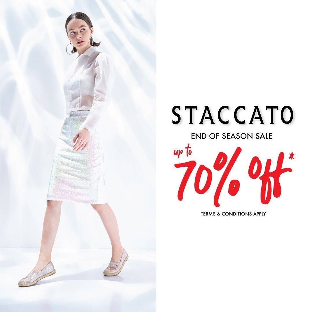 Diskon Promo Staccato End Of Season Sale Up To 70% Off