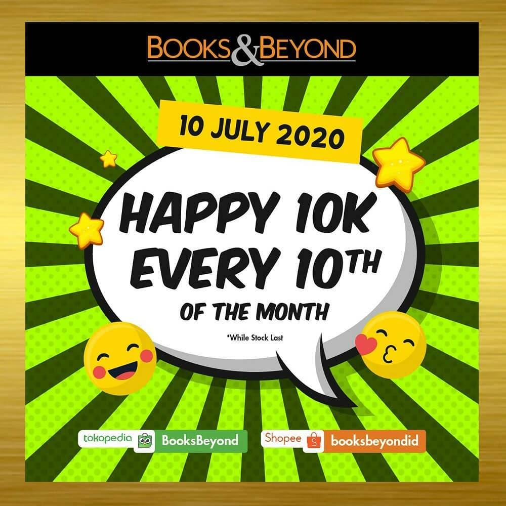 Diskon Promo Books & Beyond Pay Only For IDR. 10.000 On Selected Books