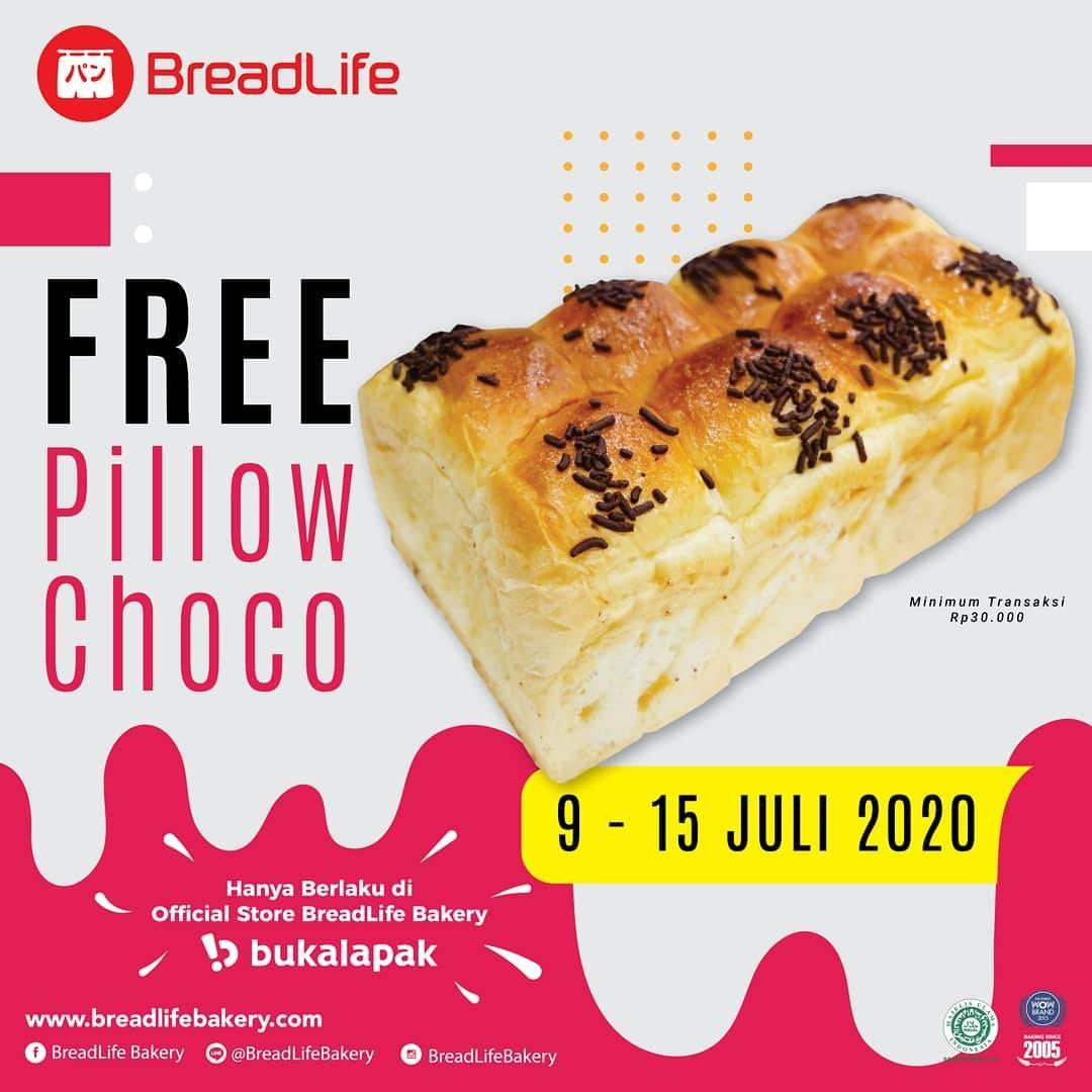 Diskon Promo Breadlife Gratis Pillow Choco Untuk Pembelian Melalui Official Store Di Bukalapak