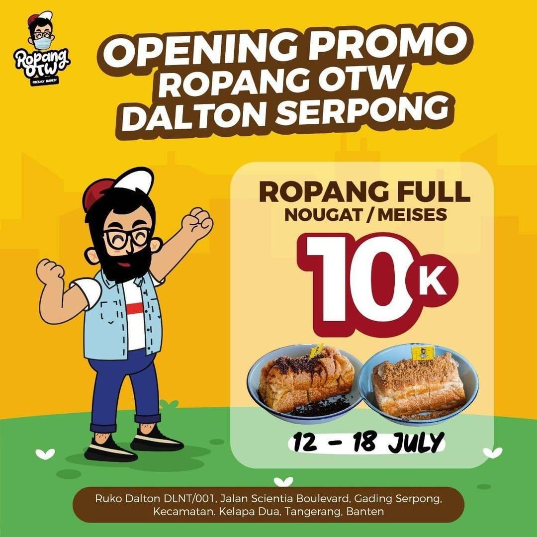 Diskon Promo Ropang OTW Harga Spesial Ropang Full Nougat/ Meises Hanya Rp. 10.000