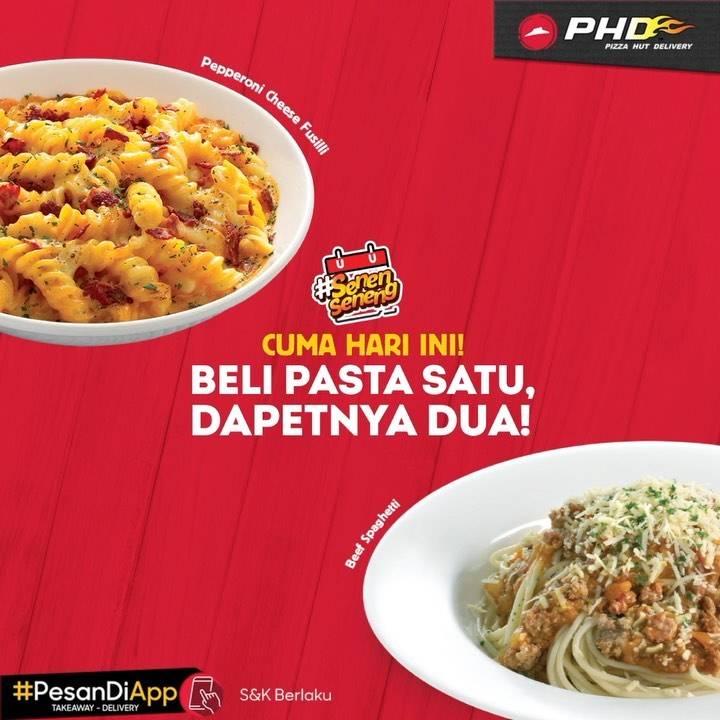 Diskon Promo PHD Beli 1 Gratis 1 Pasta
