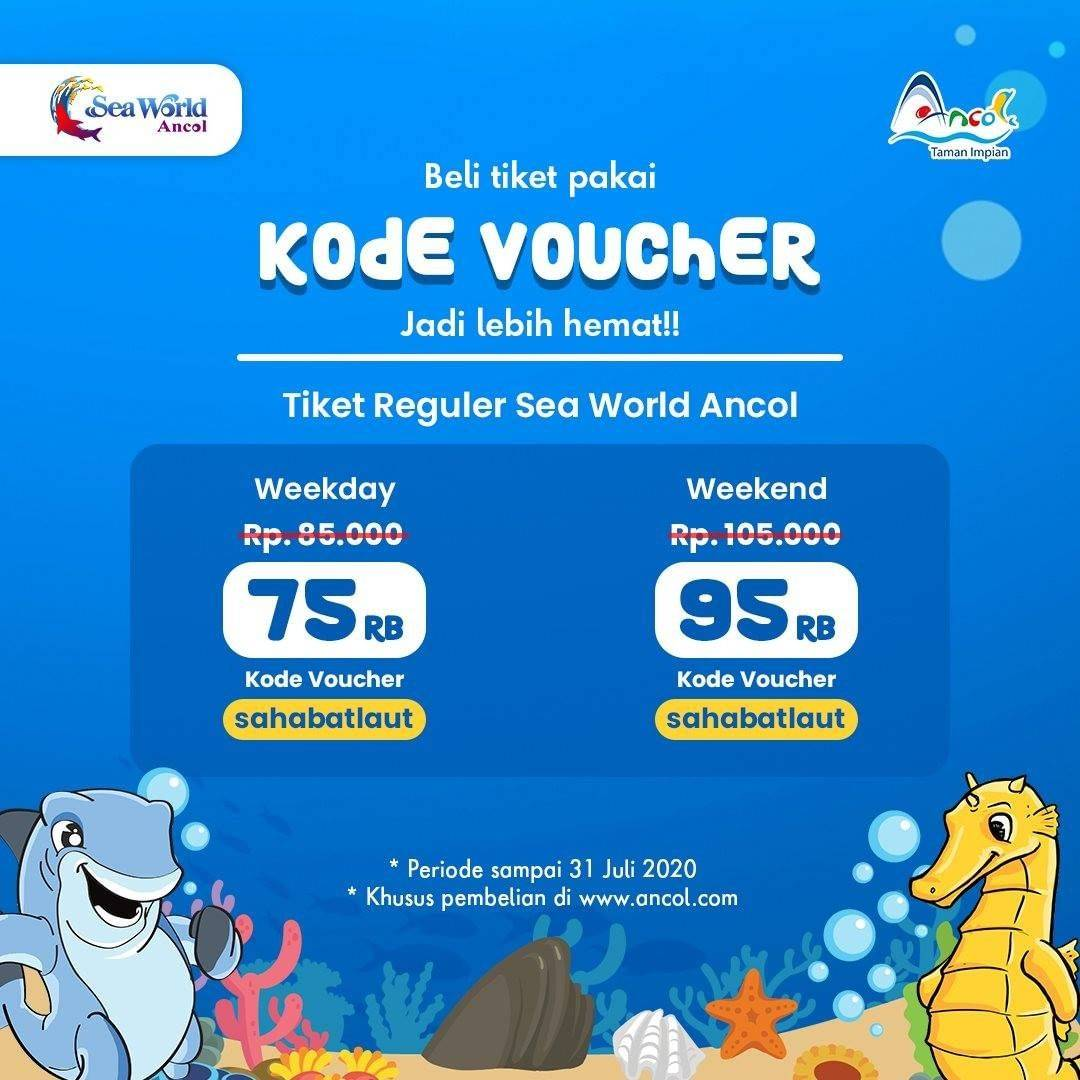 Diskon Promo Sea World Harga Spesial Tiket Masuk Mulai Dari Rp. 75.000