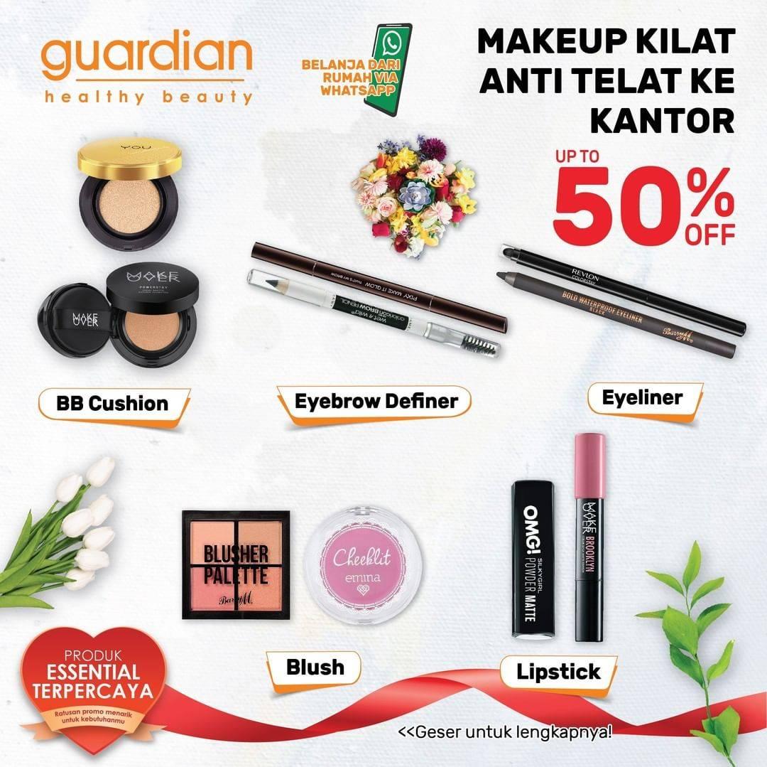 Diskon Katalog Promo Guardian Diskon Makeup up to 50%!!!