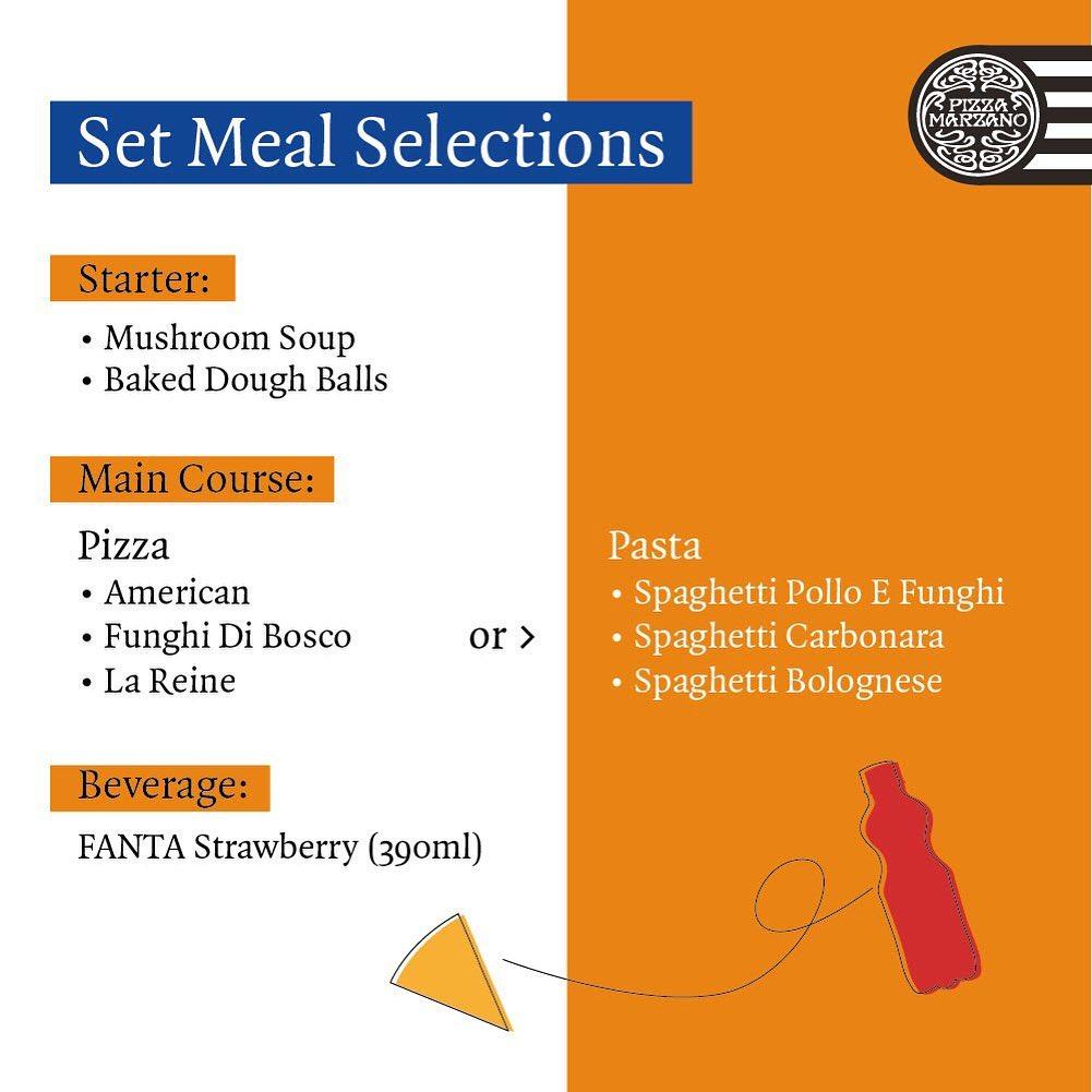 Promo diskon Promo Pizza Marzano x Fanta Meal Set Only For IDR 99.000