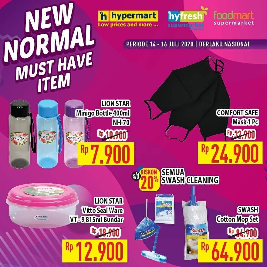 Diskon Katalog Promo Hypermart New Normal Must Have Terbaru Periode 14 - 16 Juli 2020