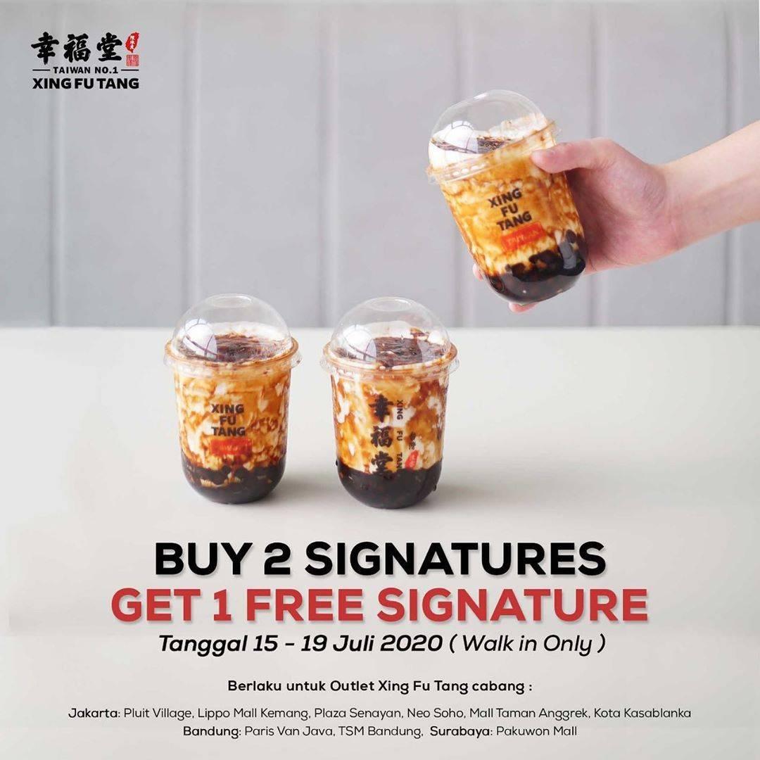 Diskon Promo Xing Fu Tang Buy 2 Signatures Get 1 Free Signature