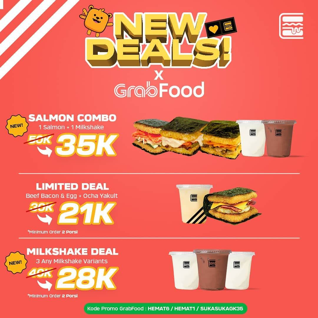 Diskon Promo Burgushi New Deals Package Start From IDR. 21.000 On GrabFood