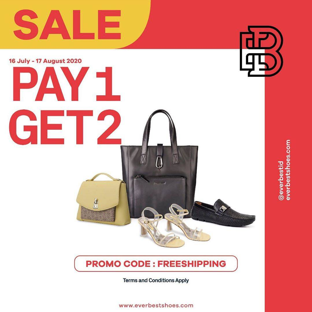 Diskon Promo Everbest Sale Pay 1 Get 2 On Summer Collection