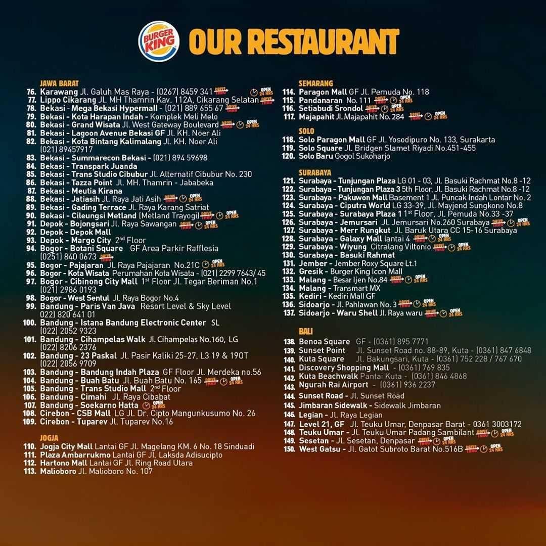 Promo Burger King Super King Of The Weekend Wilayah Jawa