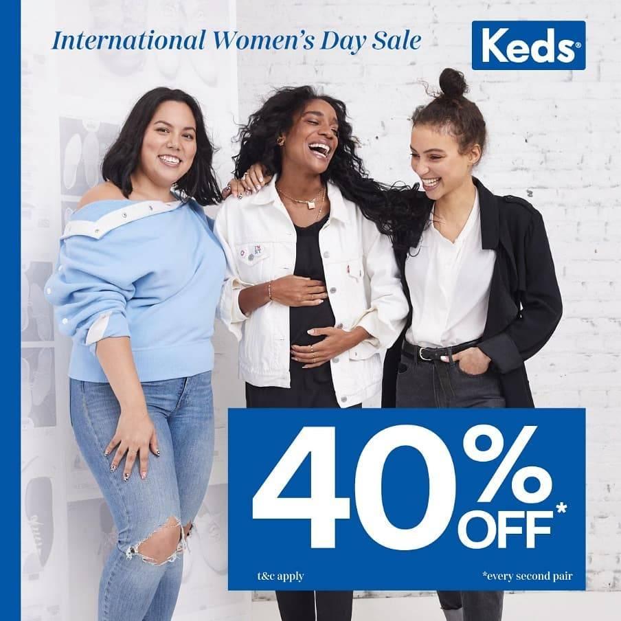 Diskon Promo Keds Get Discount 20% Off & Buy 2 Get Discount 40% Off