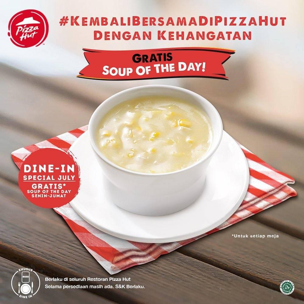 Diskon Promo Pizza Hut Free Soup Of The Day