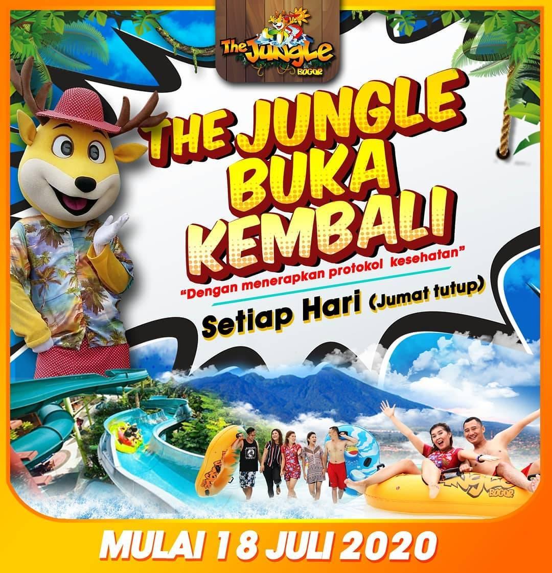 Diskon Promo The Jungle Waterpark Tiket Masuk Hanya Rp. 30.000/Orang