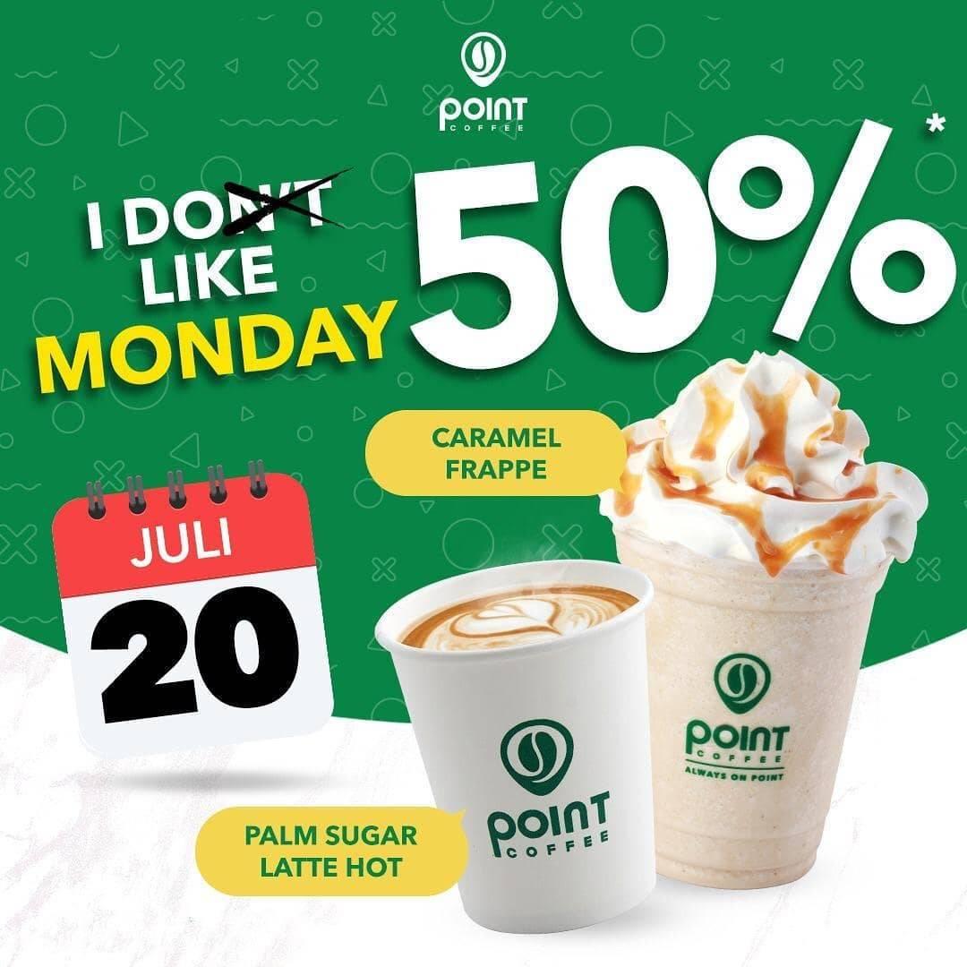 Diskon Katalog Promo Indomaret Point Coffee Diskon 50% Hari Ini