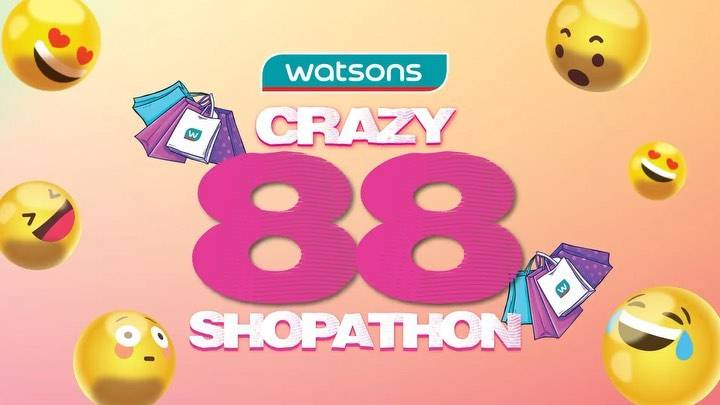 Diskon Promo Watsons Crazy 88 Shopaton Diskon Hingga 80% Khusus Belanja Online