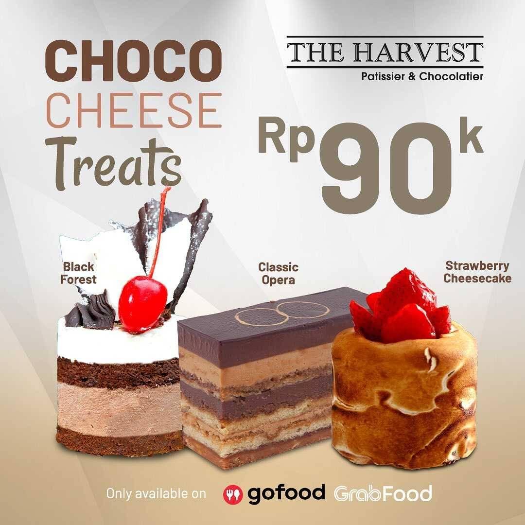 Promo diskon Promo The Harvest Cheese Choco Treats Hanya Rp. 90.000