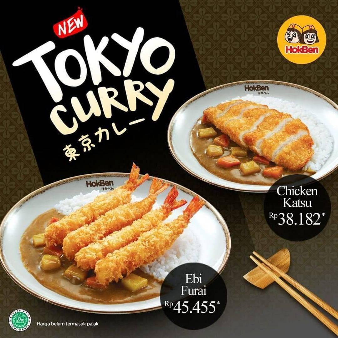 Diskon Promo HokBen Harga Spesial Tokyo Curry Mulai Dari Rp. 38.182
