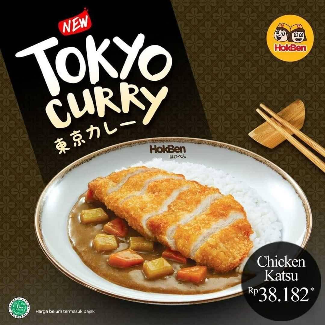 Promo diskon Promo HokBen Harga Spesial Tokyo Curry Mulai Dari Rp. 38.182