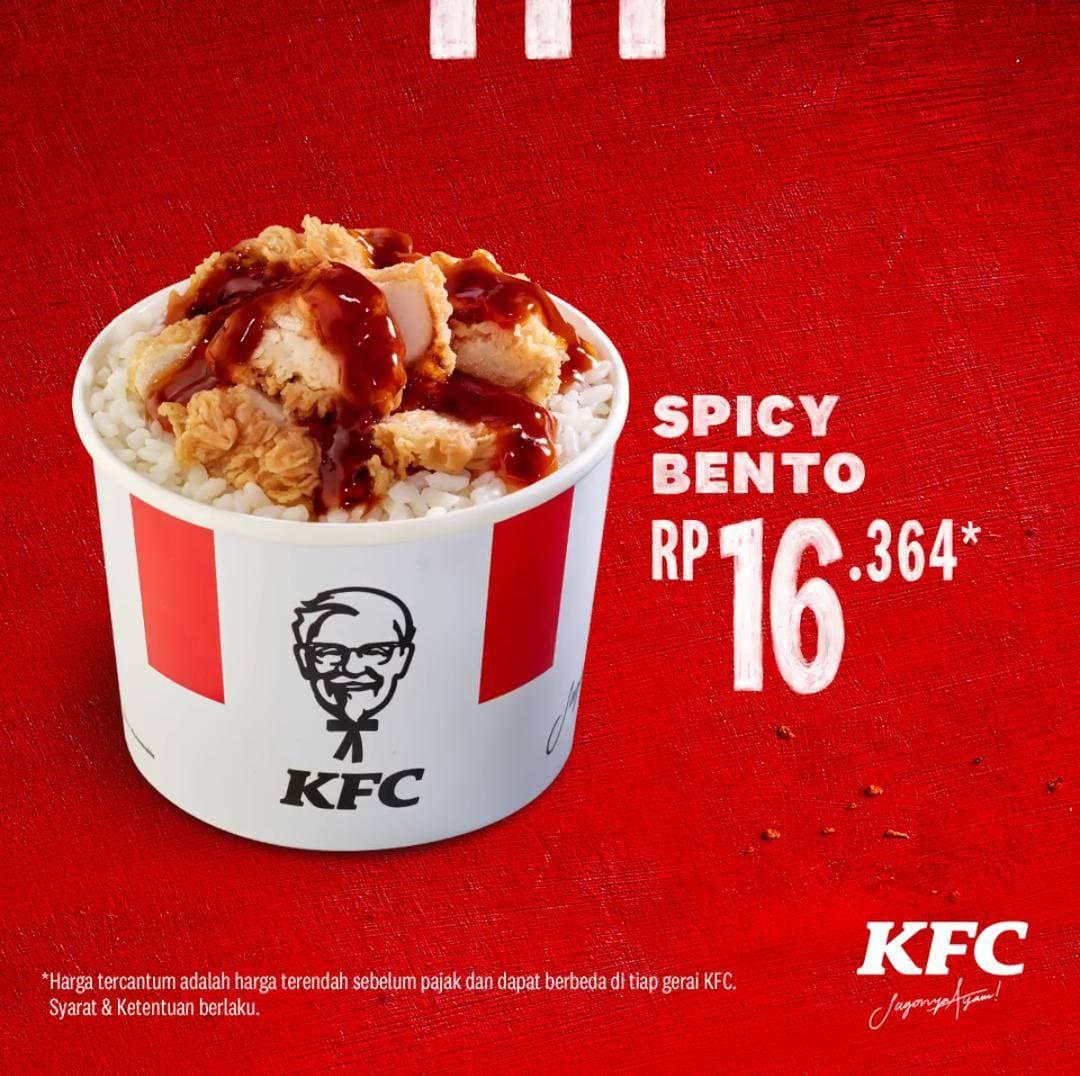 Diskon Promo KFC Harga Spesial Menu Spicy Lime Sauce Mulai Dari Rp. 16.364