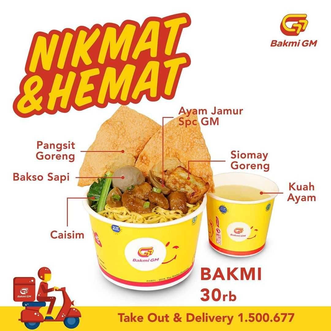 Promo diskon Promo Bakmi GM Paket Hemat & Nikmat Dengan Harga Mulai Dari Rp. 20.000