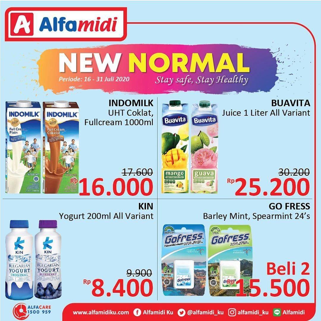 Diskon Katalog Promo Alfamidi New Normal Periode 16 - 31 Juli 2020