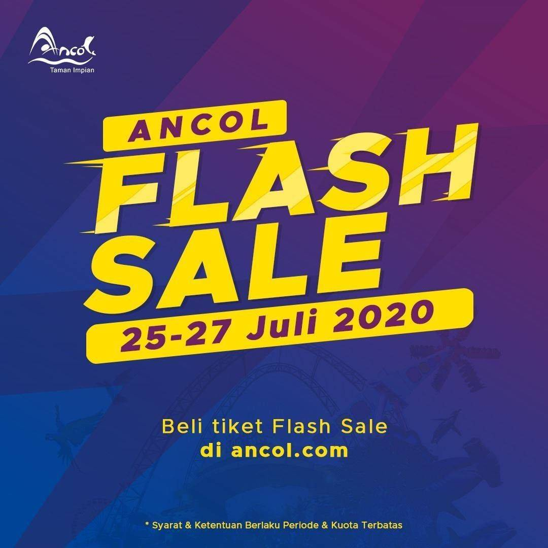Diskon Promo Ancol Falsh Sale Periode 25-27 Juli 2020