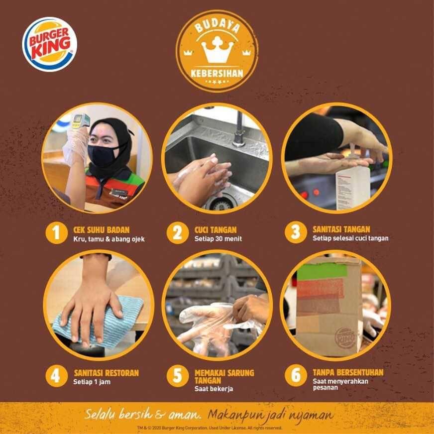 Promo diskon Promo Burger King King Of The Week Harga Mulai Dari Rp. 5.000