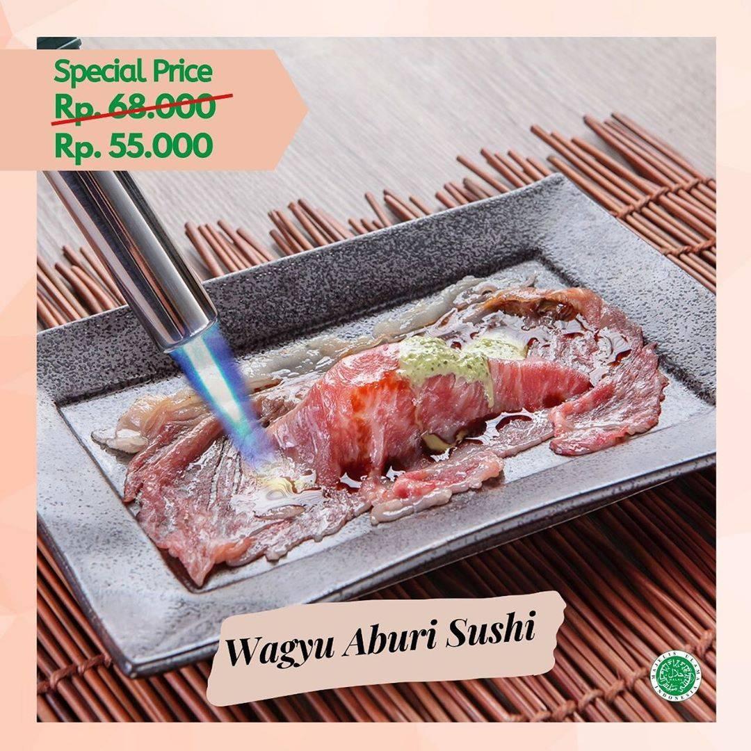 Diskon Sushi Tei Promo Wagyu Aburi Soba