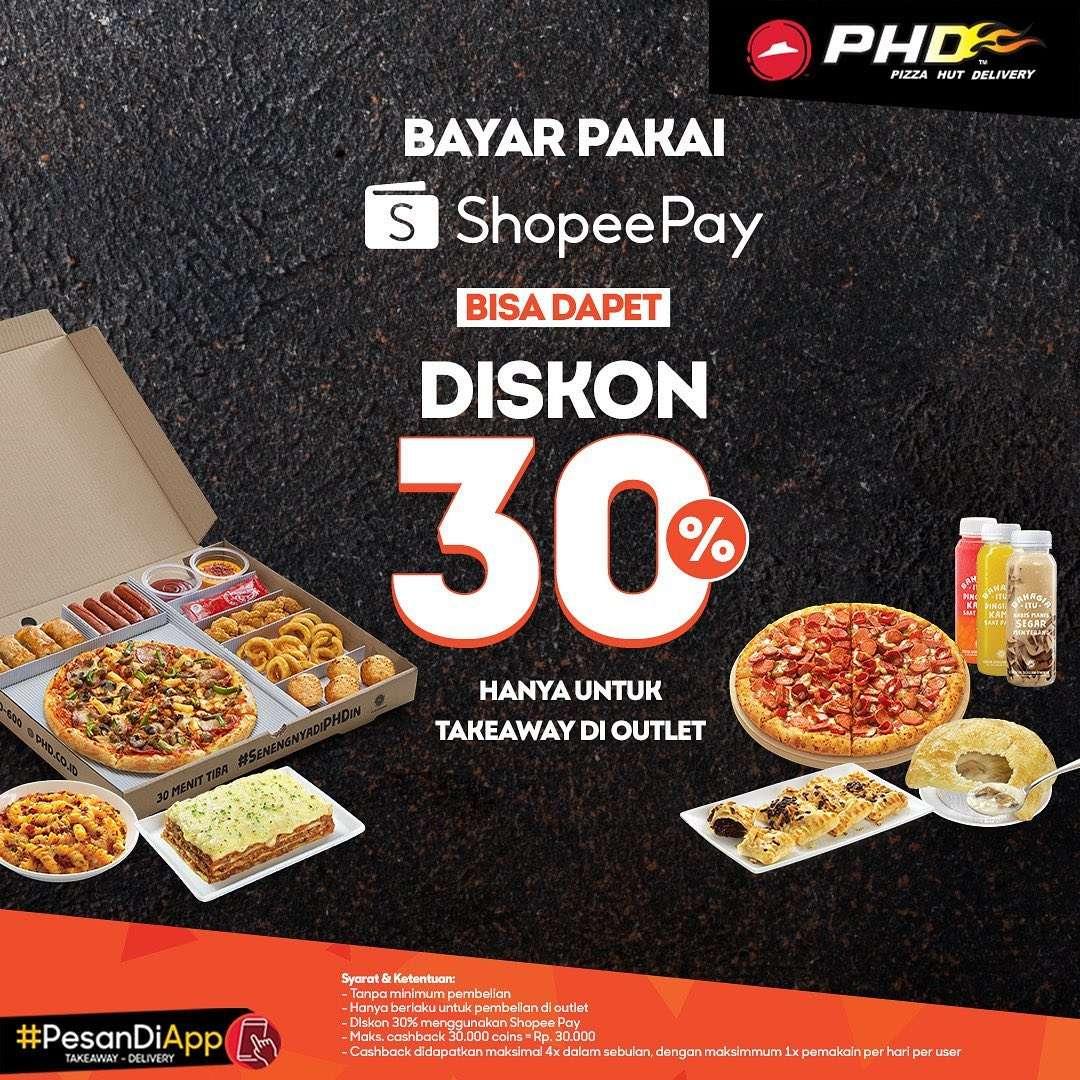 Diskon PHD Promo ShopeePay Diskon 30%