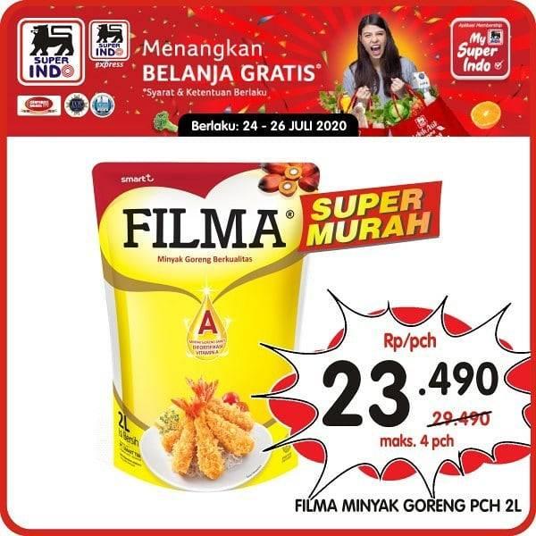 Diskon Katalog Promo Superindo Super Murah JSM Periode 24 - 26 Juli 2020