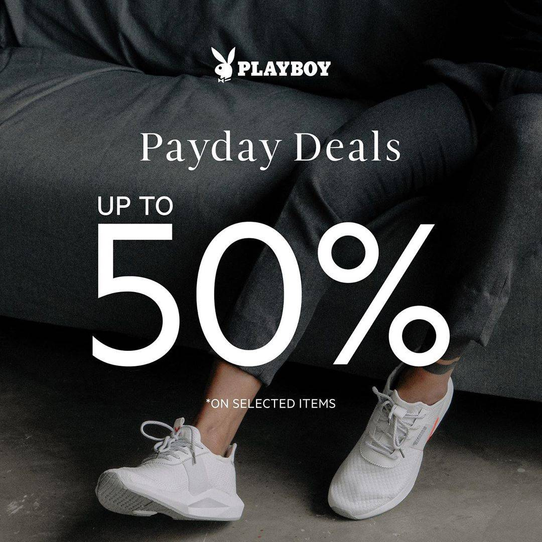 Diskon Promo Playboy Shoes Payday Deals Discount Up To 50% Off
