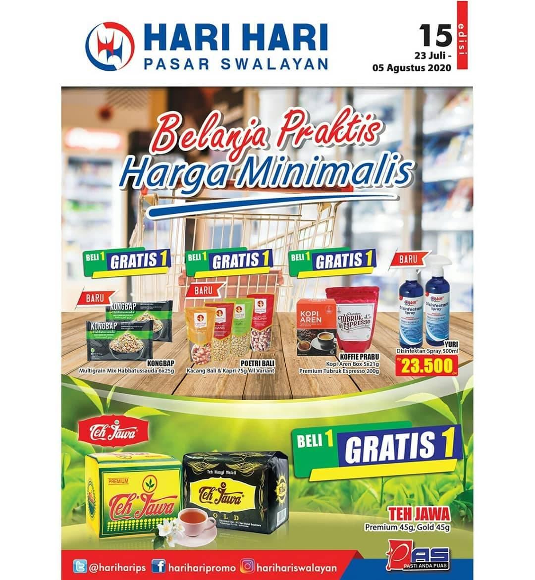 Diskon Katalog Promo Hari Hari Swalayan Harga Minimalis Periode 23 Juli - 5 Agustus 2020